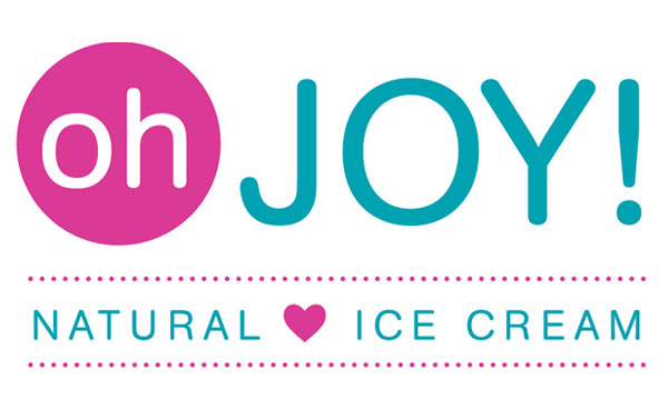 Logo Design for Oh Joy! Natural Ice Cream