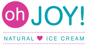 Logo for Oh Joy! Natural Ice Cream