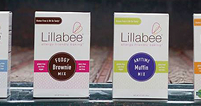 Box Design for Lillabee Baking Mixes